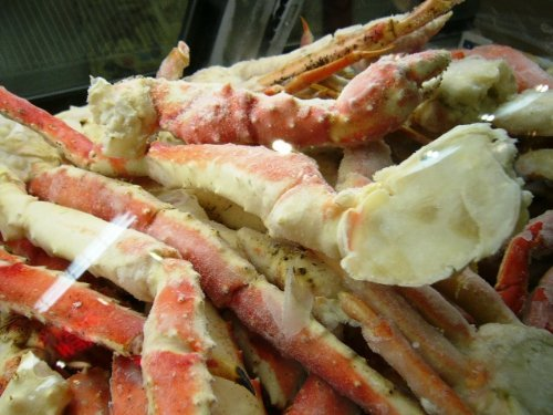 Colossal Red King Crab Legs Wild Caught 3 lb by Robert Wholey & Co. (Image #1)
