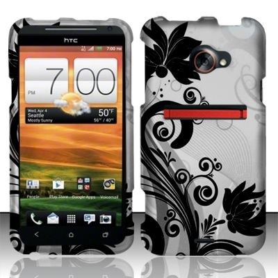 the latest 57f48 91fd8 Amazon.com: Cell Phone Case Cover Skin for HTC Evo 4G LTE (Black ...