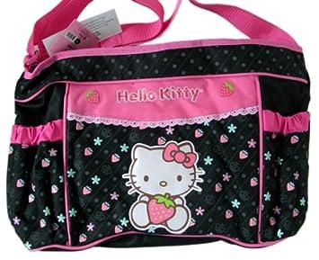 e38fcf82d225 Amazon.com   Hello Kitty Diaper Bag -Baby bag   Diaper Tote Bags   Baby