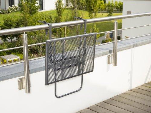greemotion Tavolino da balcone pieghevole \
