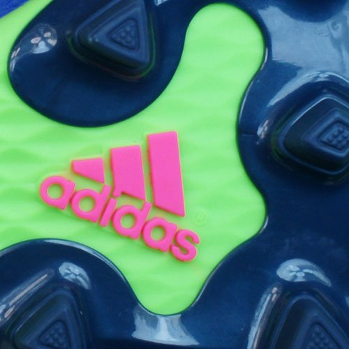 adidas Performance PREDITO INSTINCT FG Zapatillas de Futball Soccer Verde Azul para Hombre