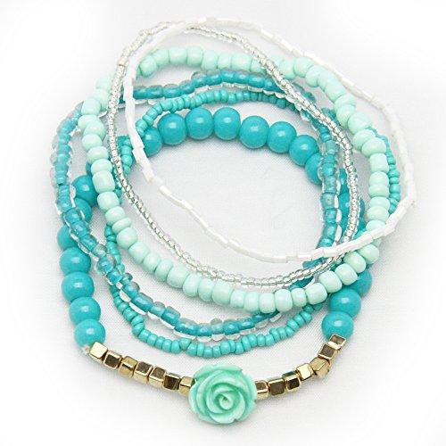 GLOBAL Bohemian Stretch Bracelet Bangles