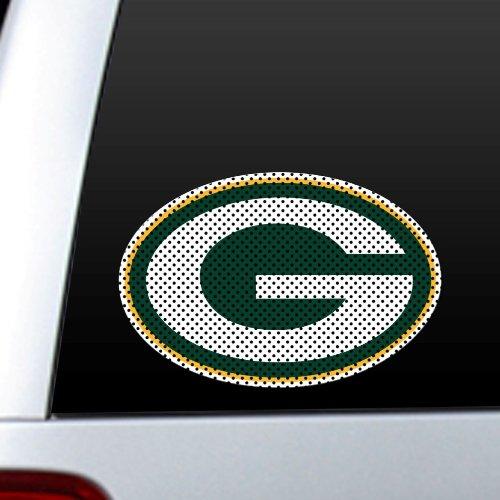 NFL Green Bay Packers Die Cut Window Film (Green Bay Packer Window Clings)