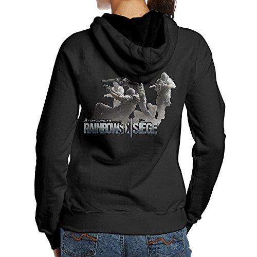 Price comparison product image SAMMOI Tom Clancy's Rainbow Six Siege 7 Women's Hoodies M Black