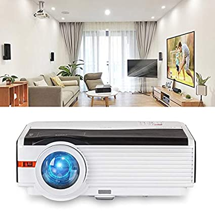 Amazon.com: DishyKooker Home Theater Projector LED LCD ...
