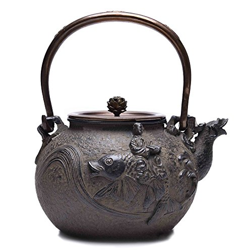 Enameled cast iron reviews best kitchen pans for you - Japanese teapot with infuser ...