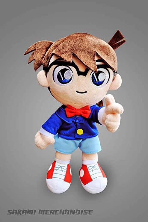 Sakami Merchandise Case Closed Plush Figure Conan Edogawa 27 cm Peluches