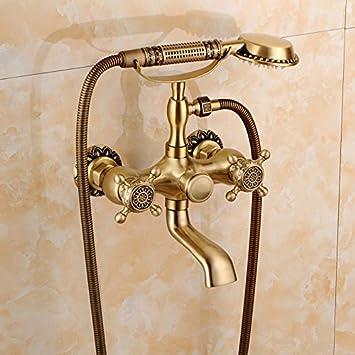 Gyps Faucet Waschtisch Einhebelmischer Waschtischarmatur Badarmatur Alle  Kupfer Antik Dusche Retro Set Dusche Badewanne Armatur