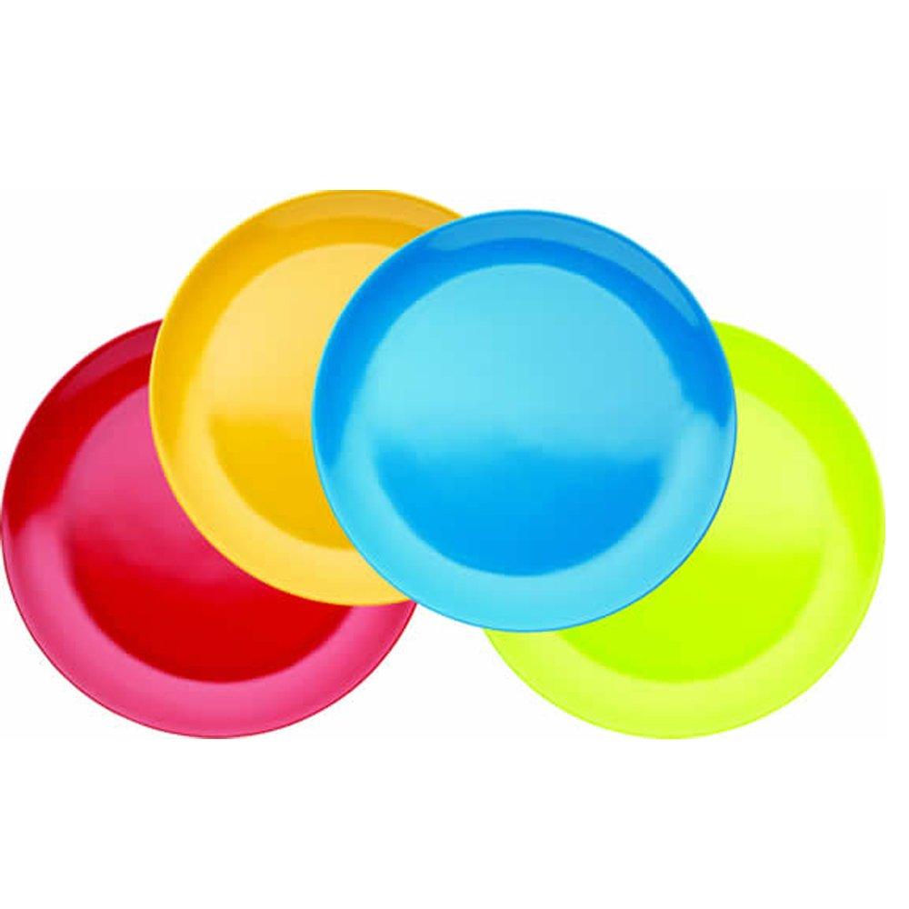 Miniamo Brights - Platos de melamina (4 unidades) Kitchen Craft MABCPPK4