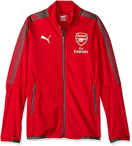PUMA Arsenal Stadium Jacket 2017/18 (Red)-Small Adults