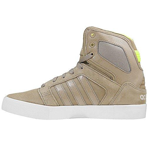 Adidas - Hitop Mid - F76451 - Couleur: Beige-Marron - Pointure: 44.6