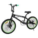 Ridgeyard-bici-bmx-freestyle-20-pollici-6-velocit-STERZO-3604-pioli-bmx-bike