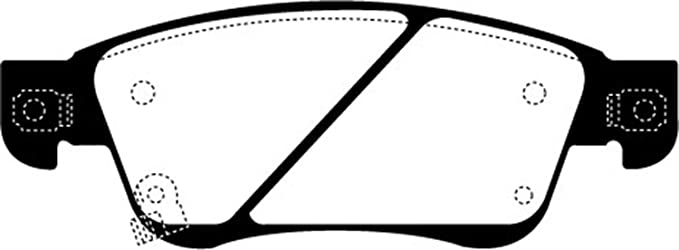 EBC Brakes DP22013 Greenstuff 2000 Series Sport Brake Pad