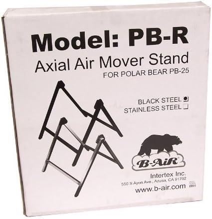 B Air BA PB 25 ST BK Polar Soporte de Ventilador de Alta