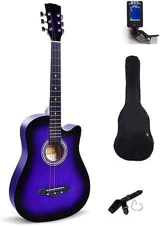 Guitarra acústica BAIYING, Guitarra clásica para Adolescentes ...