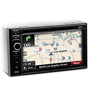 BOSS Audio BV9386NV Double Din, Touchscreen, Bluetooth, Navigation/GPS, DVD/CD/MP3/USB/SD AM/FM Car Stereo, 6.2 Inch Digital LCD Monitor, Wireless Remote