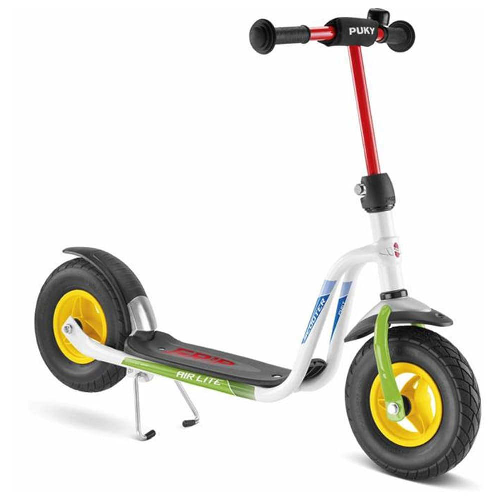 Barato Puky 5219 R 03 L Scooter, color blanco/verde