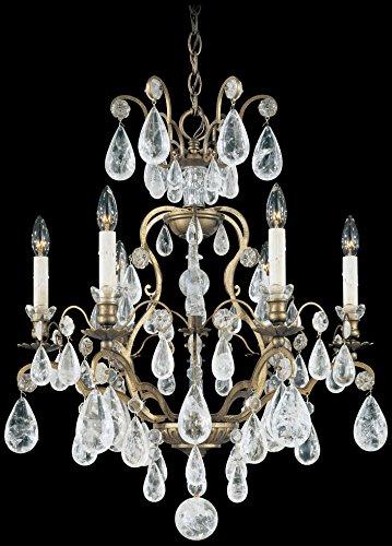 Schonbek 2470-23 Swarovski Lighting Versailles Rock Crystal Chandelier, Etruscan ()
