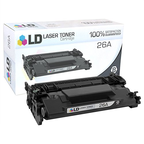 LD Compatible Replacement for HP 26A/CF226A Black Laser Toner Cartridge for LaserJet Pro Printers: M402dn, M402dw, M402n, MFP M426fdn, MFP M426fdw by LD Products