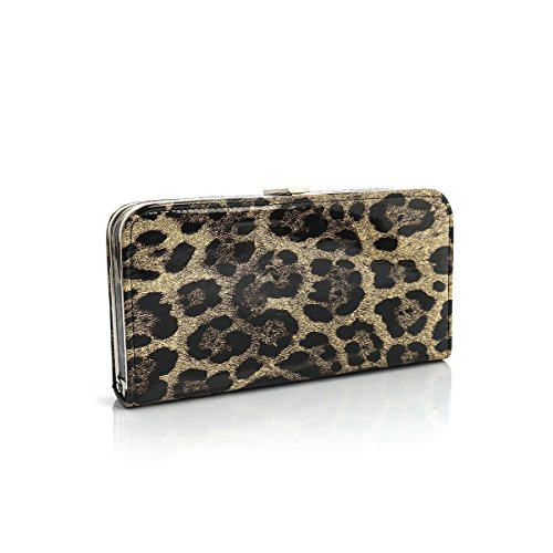 FZHLY New Evening Bag European And American Wind Clutch,Beige Coffee