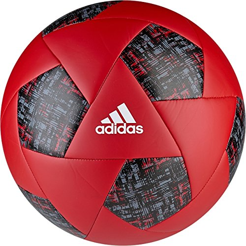 adidas Performance X Glider Soccer Ball, Red/White/Onyx, Size 3 (Soccer Ball Red)