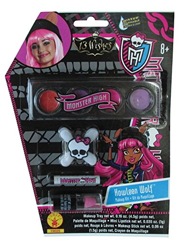 [Monster High Howleen Makeup Kit] (Blue Bull Mascot Costume)