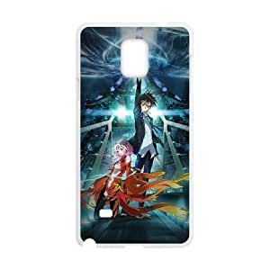 Samsung Galaxy Note 4 Cell Phone Case Covers White Guilty Crown Characters Eitic