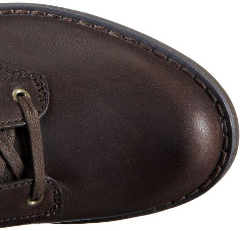 Donna Timberland savin hill mid espresso pelle stivali scarpe nuovo36
