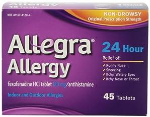 CHATTEM社 アレグラ アレルギー 45錠