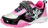 Disney Minnie Mouse Toddler Girls Sneaker Pink/Black (12)