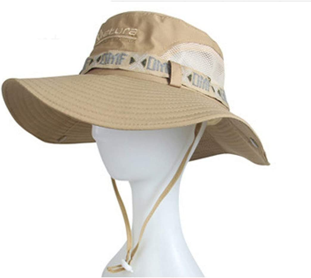 Outdoor Men Summer Sun hat Fisherman hat uv Protection Fishing hat Mountain Climbing Sun hat