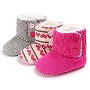 KKBRAND Baby Booties (HOT Pink)