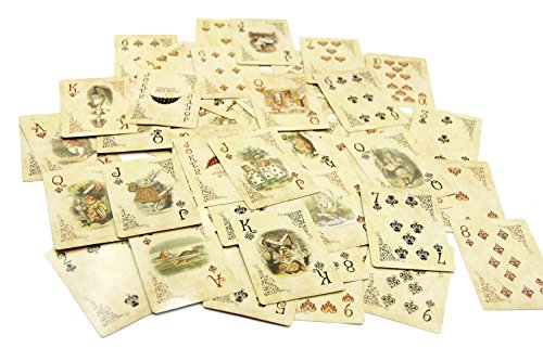 ASVP Shop® Alice In Wonderland Playing Cards Party Props Decoration Theme Full Set by ASVP Shop