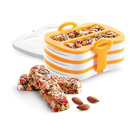 Silicone Bakeware Case - Tescoma mold for energy bars | granola bar press