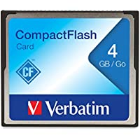 Verbatim 4GB CompactFlash Memory Card