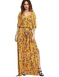 Amazon.com: Yellow - Dresses / Clothing: Clothing, Shoes & Jewelry