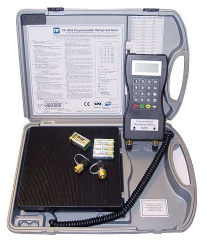 Robinair TIF9055 Programmable Charging/Recovery (Slimline Refrigerant Scale)