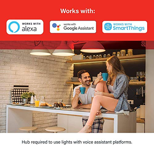 Sengled Smart Light Bulb, Smart Bulbs that work with Alexa, Google Home (Smart Hub Required), Smart Bulb BR30 Alexa Light Bulbs, 650LM Soft White (2700K), BR30 Dimmable, 9W (65W Equivalent), 1 Pack