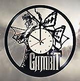 Gambit X-Men Vinyl Wall Clock Marvel Comics Unique Gifts Living Room Home Decor