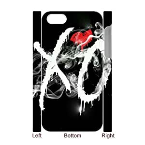 C-EUR Diy hard Case The Weeknd XO customized 3D case For Iphone 4/4s