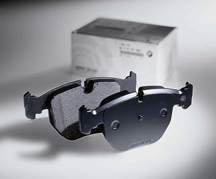 com pads pad front dp bmw amazon ac free original asbestos brake set