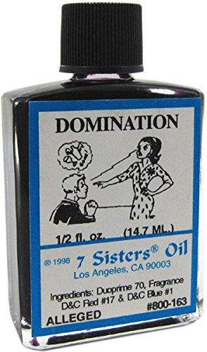 7 Sisters Domination Oil 1/2 fl. oz.