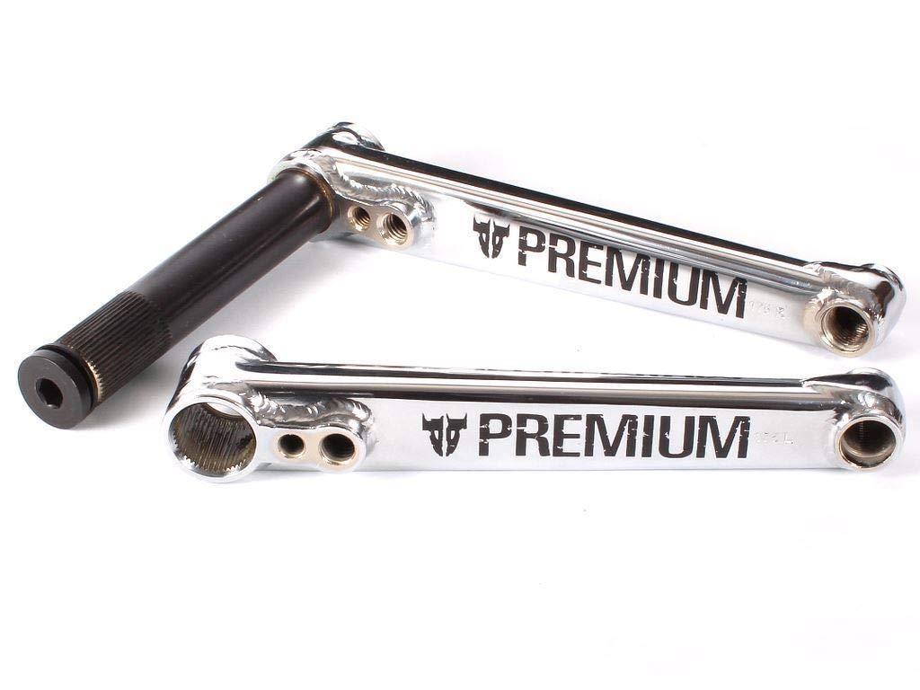 PREMIUM CRANK PREMIUM 48 SPLINE 22MMX175MM CHROM