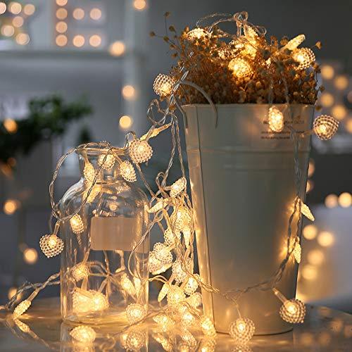 Cadena de Luces 30m bombillas LED luces decoración de Navidad ...