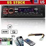 FidgetFidget MP3 WMA Radio Player Auto Car Stereo Audio in-Dash FM AUX Input Receiver SD USB