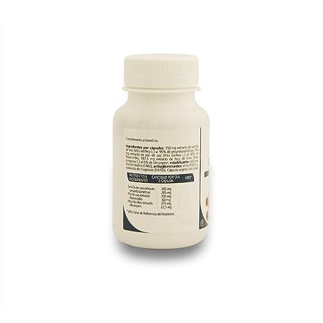 SANON Resveractiv 60 cápsulas de 510 mg: Amazon.es: Salud y cuidado personal