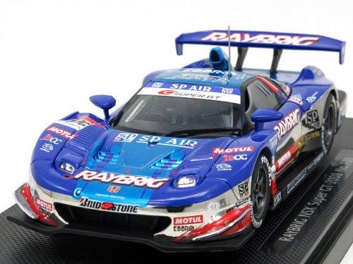 1/43 RAYBRIG NSX 東京中央 #100(パープル×シルバー) 「オートバックス SUPER GT500 2008シリーズ」 44050