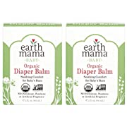 Earth Mama Organic Diaper Balm Calendula Cream, 2-Fluid Ounce, 2-Pack