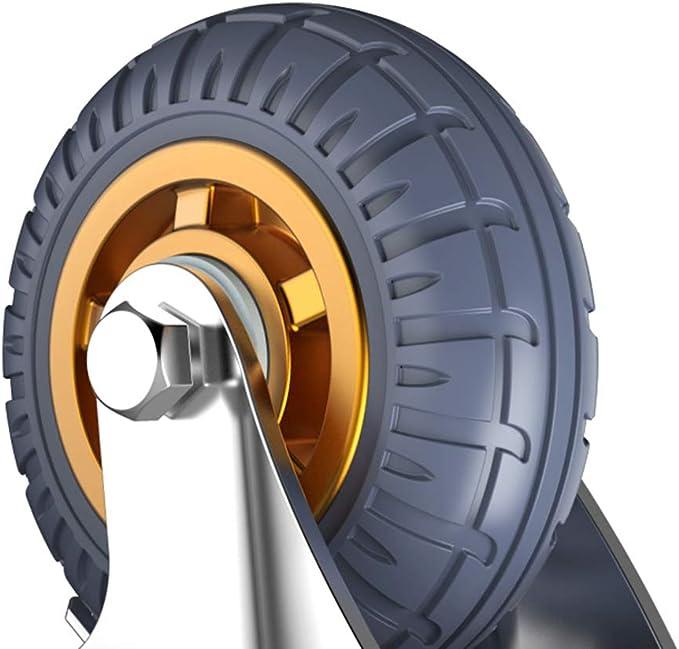 roulettes industriels Lourds Roulette pivotante Caoutchouc Chariot Roues de Roulette de Meuble 4 Paquets 4 300 kg de capacit/é de Charge 100 mm