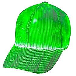 LED Baseball Cap 7 Colors Glow Hat